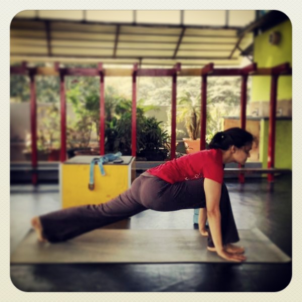 Also called the Anjaneya asana, the horse pose and the low lunge.