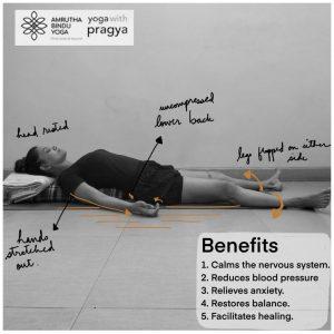 savasana  the corpse pose  yoga with pragya